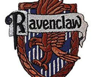 Harry Potter Ravenclaw 4 Inch Sew On or Iron On Application Applique Patch