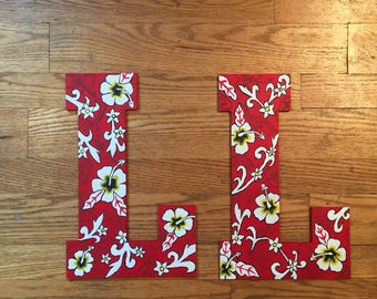 Customized Painted Wooden Letters