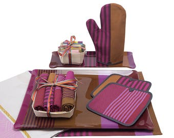 Kitchen Napkin Tray Gift Set de Lux