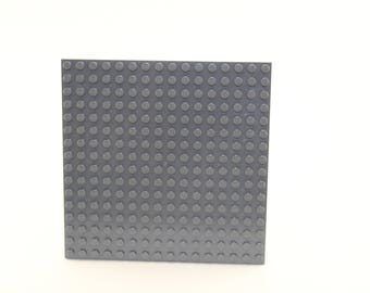LEGO® Mosaic Backing Plates 16x16 - Dark Gray