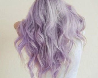 Lavender Pastel Salon Grade Hair Chalk * 1 Stick * Temporary Hair Color * Wash out Hair Dye