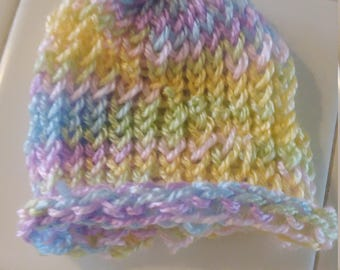 Multi Colored Baby Hues Baby Beanie