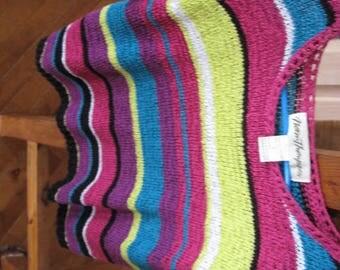 Vintage Norm Thompson Knit Top, Large
