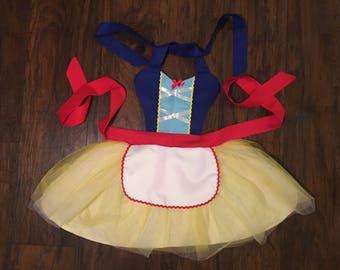 Snow White Princess Dress up Apron Disney Inspired