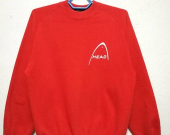 Vintage Head Small Logo Sweater Sweatshirt