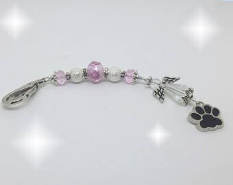 Angel Paws - Pink - Silver
