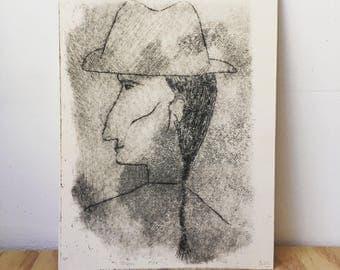 Paolo - print - woodblock rhenalon