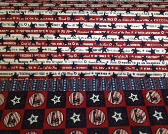 Patriotic pillowcase