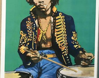 Jimmy Hendrix on Drums
