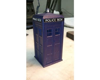 Tardis, Doctor Who, 3D printed 15cm tall