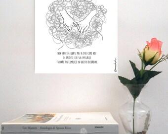 "Sketch print on rigid support-""Cesare Cremonini/Logical # 1"""