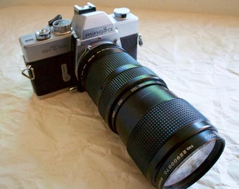 Minolta SR-T 201 Vintage 35mm Film Camera