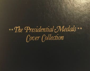 The Presidential Medals Cover Collection Washington to Clinton