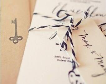 Ecological and original wedding invitations