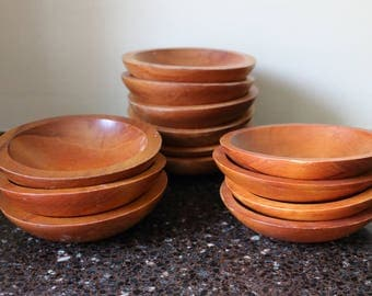 Baribo Maid/Craft Wood Bowls