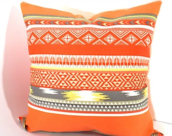 Orange Outdoor Pillow Cover, Bodaway Coral Outdoor Pillow Cover, Summer  Outdoor Decorative Pillow