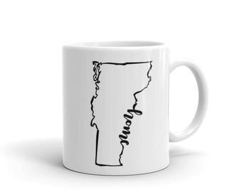 Vermont Home State - Coffee Mug