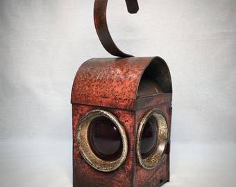 Reworked Vintage Road Lamp
