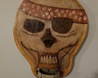 Pirate bottle opener