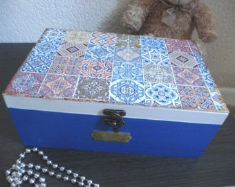 Jewelry box, sewing notions, photos etc...
