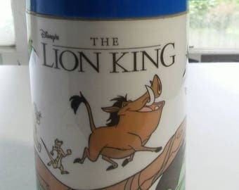 Vintage Disney The Lion King Aladdin Thermos