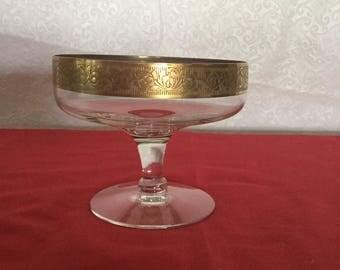 Vintage  stemed  compote bowl