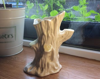 Belleek Tree Trunk Vase