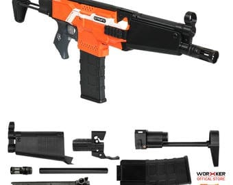 Worker MOD F10555 MP5A Rifle Imitation Kit 3D Printing Combo for Nerf STRYFE N512