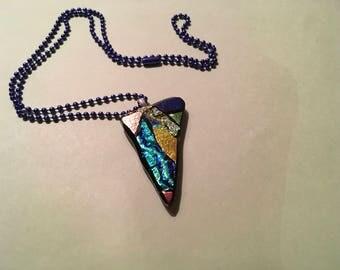 Necklaces, Glass, Handmade, Unique, Natural.