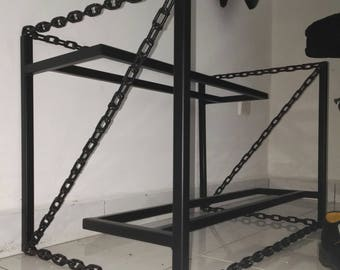 Free Shipping Chain Shoe Rack for your beloved Adidas and Nike