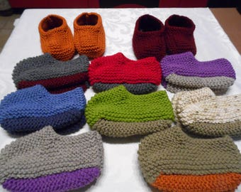 Booties Canadian adult colors to choose sizes 39 to 41