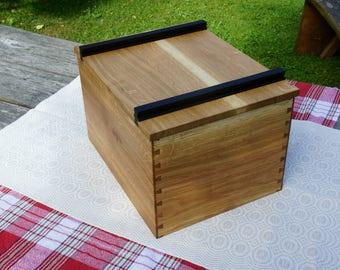 Bread bin // Wood bread bin // Bread box // Handmade bread bin