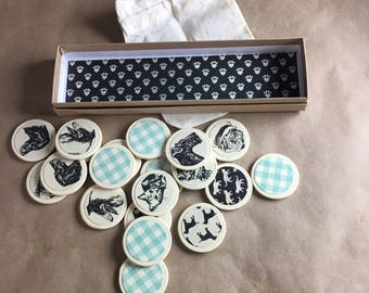 Matching Memory Game with Dogs and Cats