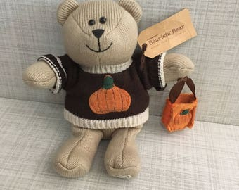Starbucks Fall Barista Bear