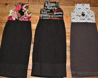 Hanging kitchen towels, doublesided, high quality hand made