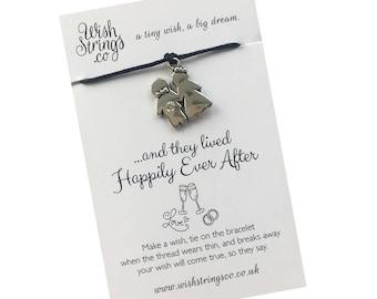 Wedding Couple WishString Wish Bracelet