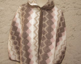 Cape woolly bombon chocolate and ivory