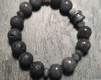 jade diffuser bracelet / essential oil diffuser bracelet / aromatherapy bracelet / oil bracelet