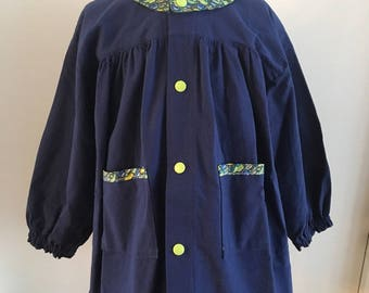 Blouse cotton 3 years and Liberty Blue Navy