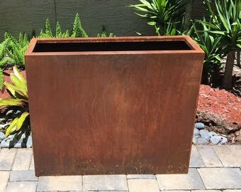 Corten Steel Edge Planter