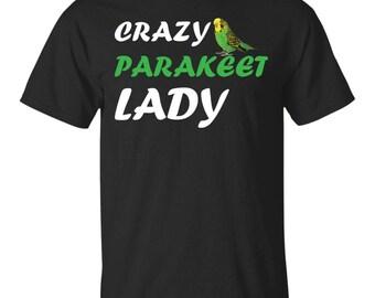 Crazy Parakeet Lady