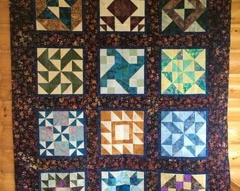 Batik Quilt Top