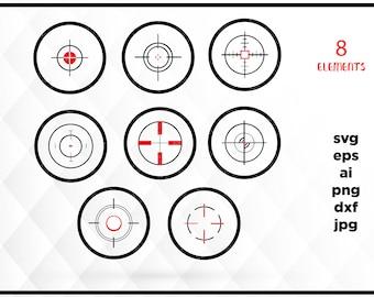 90% OFF Sale Bullseye SVG, Bullseye png - Shooting Target SVG, Digital Cutting File, Cricut Cut, files for silhouette, shoot svg, target svg