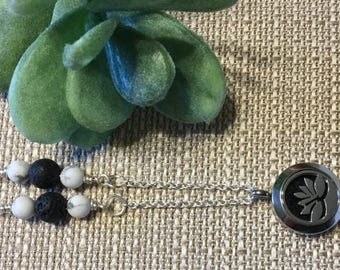 Chain and Link Essential Oil Necklace