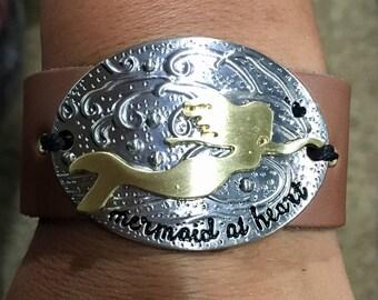 Mermaid at heart bracelet