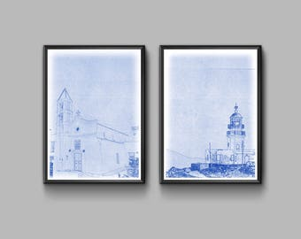 London blueprint poster set high quality digital print greece blueprint poster set high quality digital print instand download present for greece malvernweather Image collections