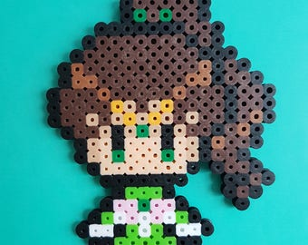 Sailor Jupiter Perler Bead Sprite