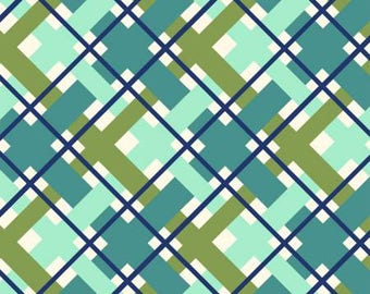 170167 Green Plaid, Hello Jane by Allison Harris Collection
