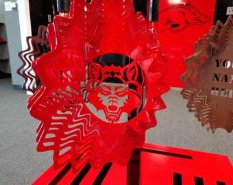Red Wolf Wind Spinner