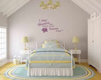 I WANT ADVENTURE Wall Decal/Belle